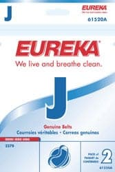 "Eureka ""J"" Upright Belts - 2pkg"
