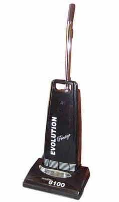 "Evolution Prestige ""Clean-Air"" Upright-10amp - Black"