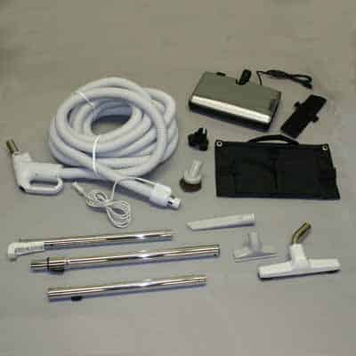 RugMaster CVAC Kit w/30' Hose, VG3 Power Nozzle & Cleaning Tools