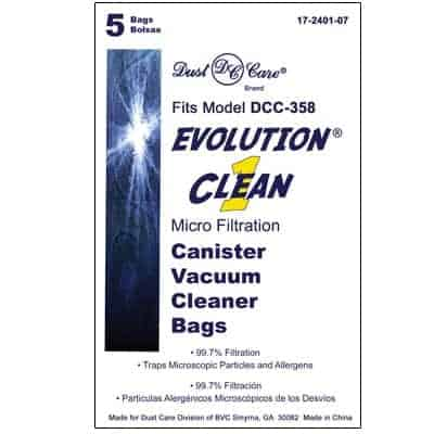 "Evolution ""CLEAN-1"" MicroBAGS-5pkg"
