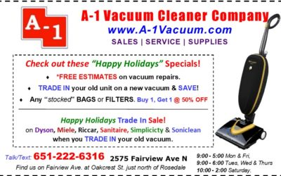 A-1 Vacuum Online Coupon