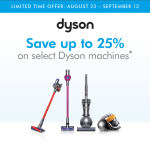 Dyson Labor Day Event