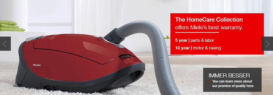 Miele HomeCare Extended Warranty