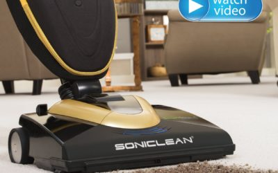 "Soniclean Vacuum Cleaner for ""Soft"" Carpets"